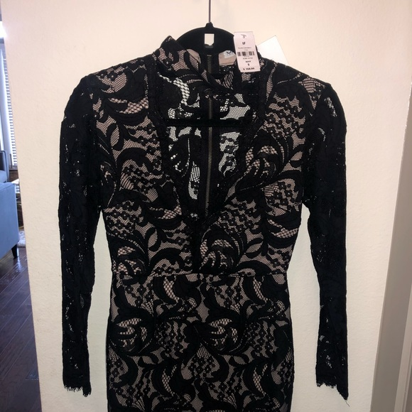 LF Dresses & Skirts - LF Seek the Label Lace V Neck Dress With Tags